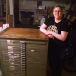 Me with my Hamilton type cabinet
